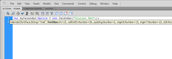 Code hint for constructor parameter