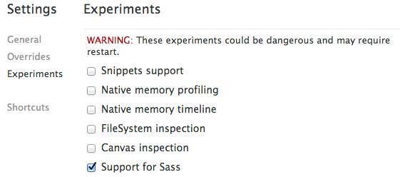 dev-tools-experiments