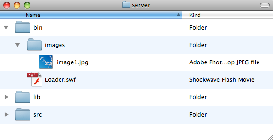 An imaginary folder setup, we're using this example to understand the difference between absolute and relative file paths