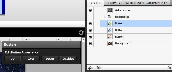 Convert Icons into Buttons