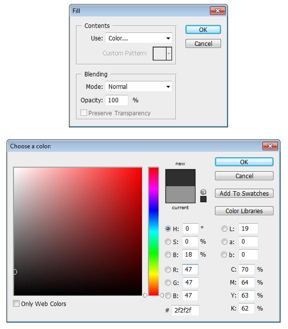 tutorial photoshop leather texture 08