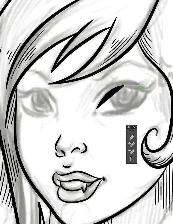 Vampiress_Drawing_Upper_Eyelid