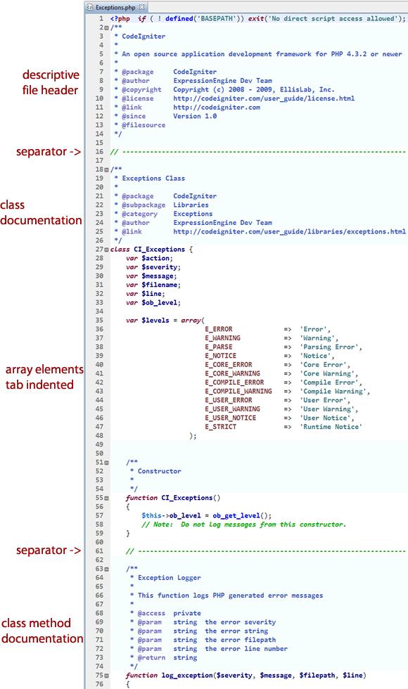 open source code example