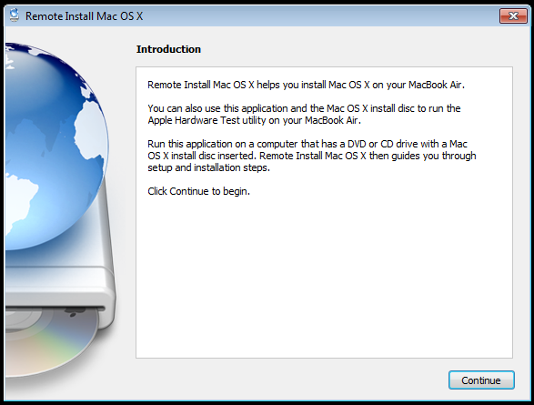 Remote Installing OS X