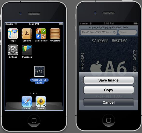 Adding photos to the iOS Simulator
