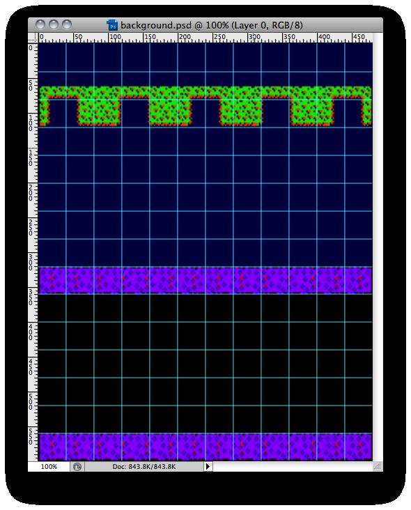 frogger-background