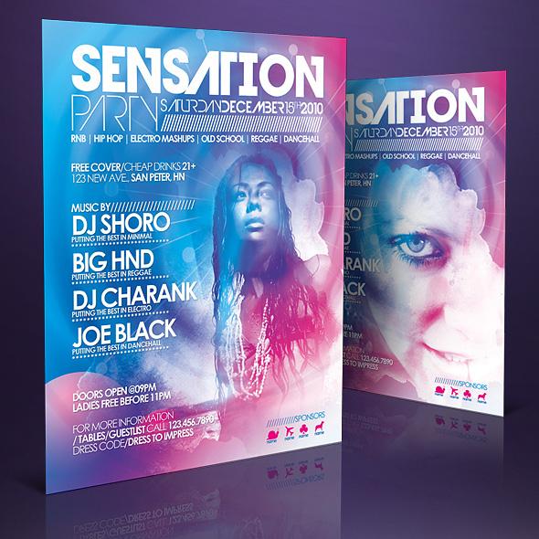 Sensation Flyer