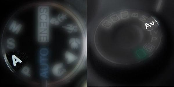 Aperture Priority dial