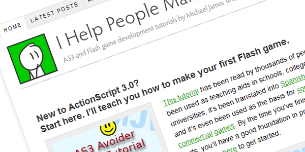 Meet Michael Williams! Activetuts+ Technical Editor