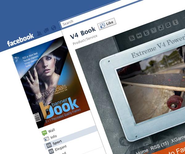Book – Facebook Fan Page Themes/RSS/Ken Burns/XML