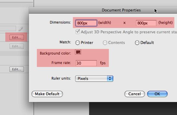 Flash Slideshow Document
