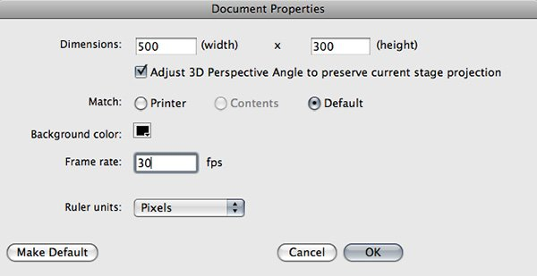 Flash file setup