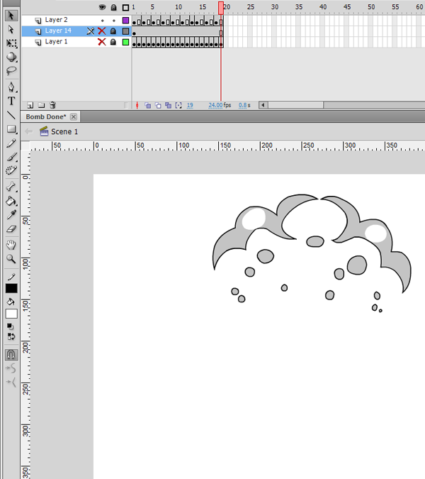 Final Frame of Animation Completed