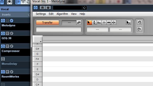 Melodyne_Transfer process