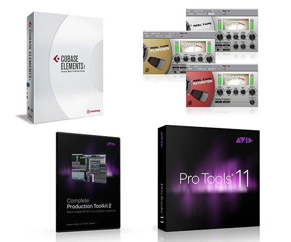 Music creation software allows you to record, edit, mix, and output your final compositions