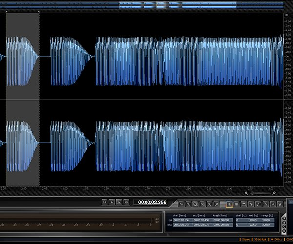 iZotope RX is an industry standard audio editor for cleaning up otherwise unusable audio files