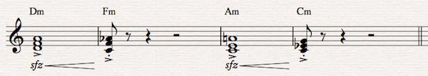 15 minor common tone