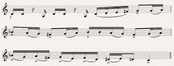 23 lydian b7 theme