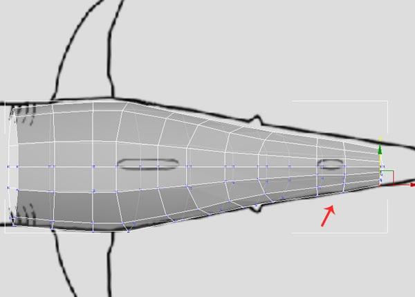 3dsMax_Shark_Modeling_25