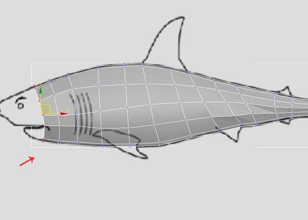 3dsMax_Shark_Modeling_26