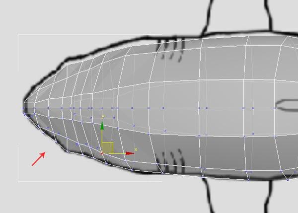 3dsMax_Shark_Modeling_29a