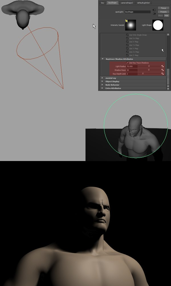 Tutorial An Introduction To Character Lighting Concepts In Maya