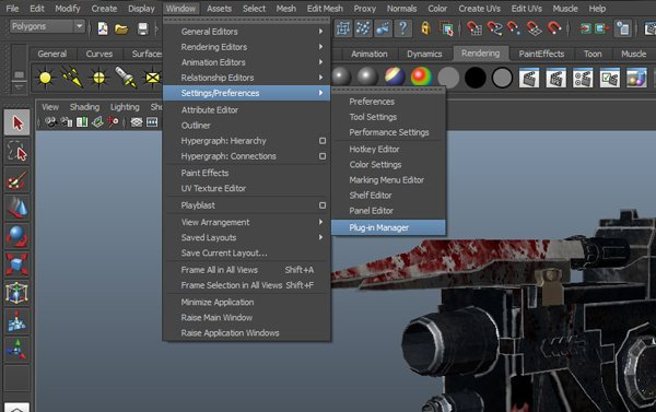 Maya Tutorial Creating A Futuristic Weapon Lighting And Compositing