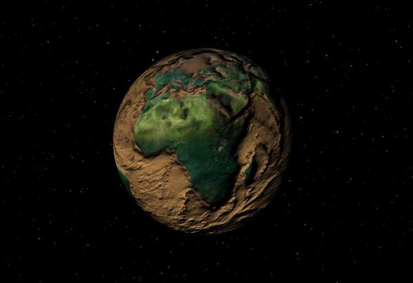 texture earth