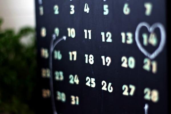 calendar tutorial- what you'll make detail