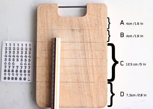 calendar tut- step 2-mark zones 3