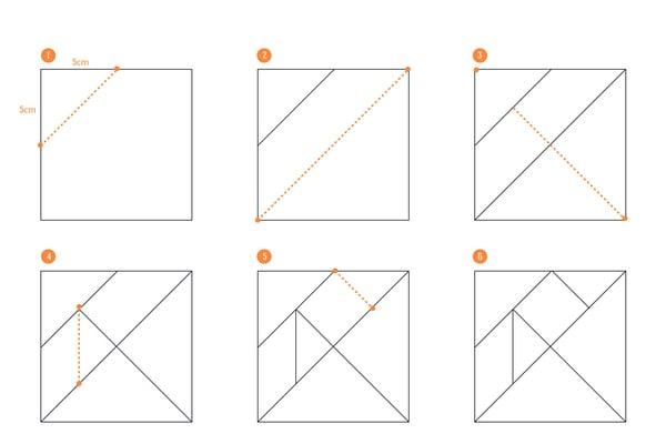 pattern tangram