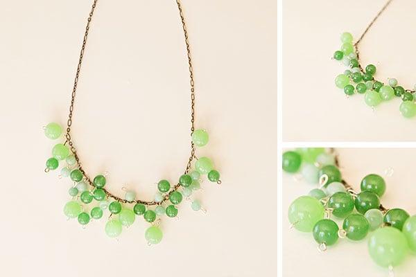 Baubled Necklace DIY