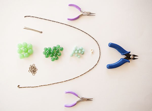 Baubled Necklace Supplies