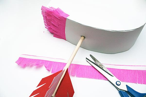Step 10: Cover The Piñata Strip