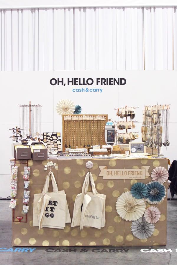 Oh, Hello Friend market stall photo