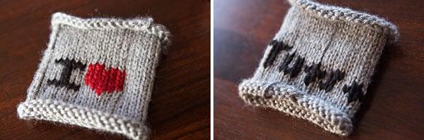 How to Start Duplicate Stitching