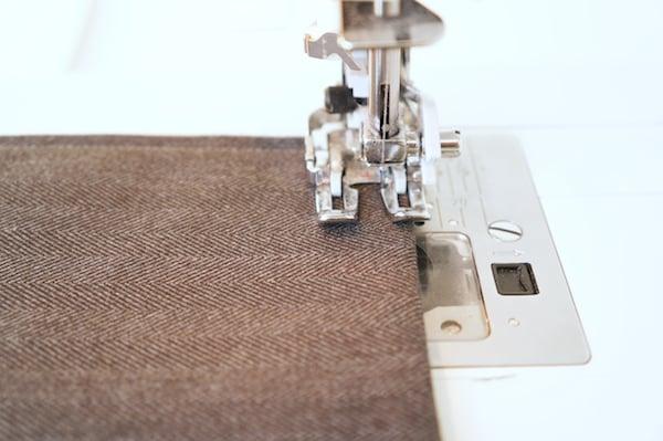 Sew the Bag Flap
