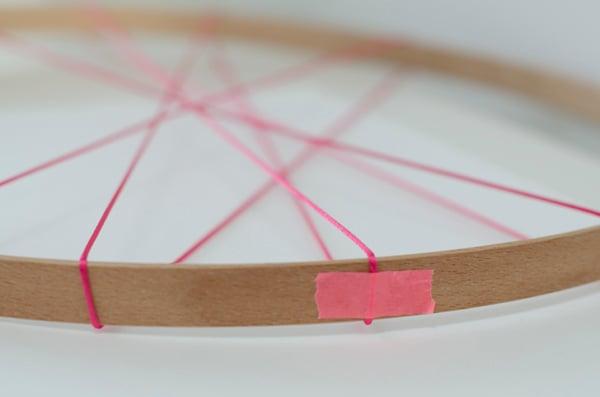 string hoop inspiration board step 2 tip