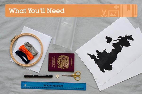 travel kit materials