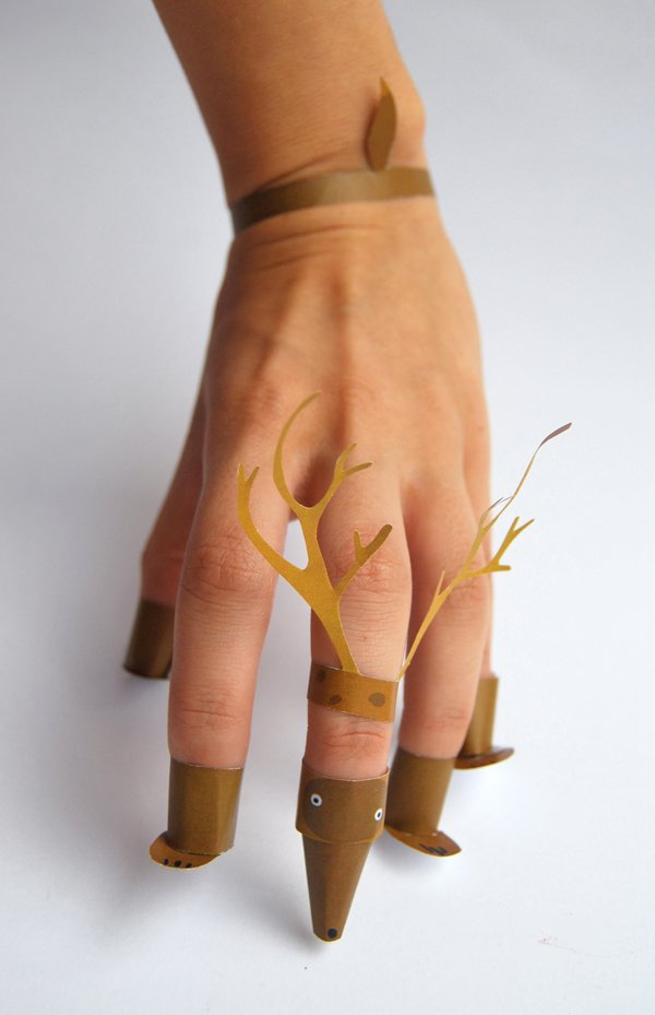 Make Seasonal Hand Animals for Kids via Crafttuts+.