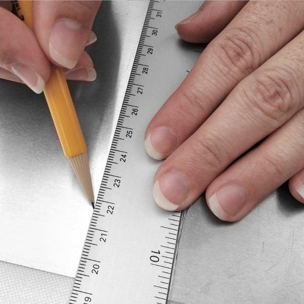 measure your aluminum
