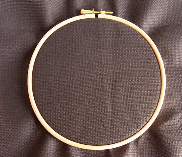 Fabric In Hoop