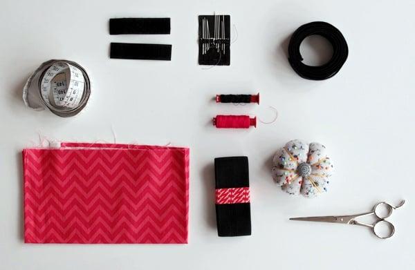 pencil case tutorial-supplies