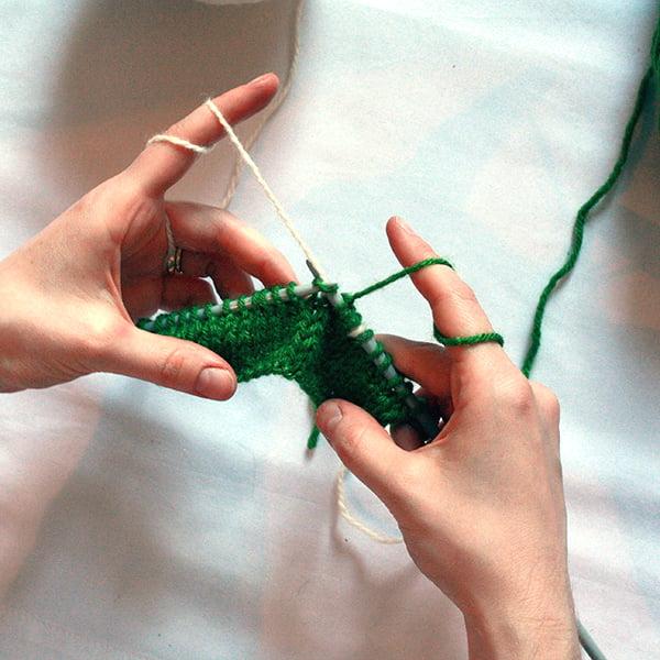 Two Strand Knitting