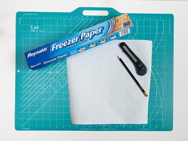 printed-cushion-cut-freezer-paper