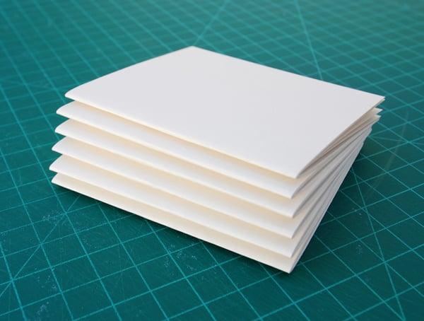 Make a signature by gathering six folios