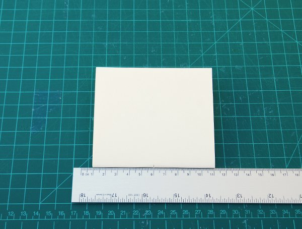 take a signature and make a small cut in the middle of the folded side