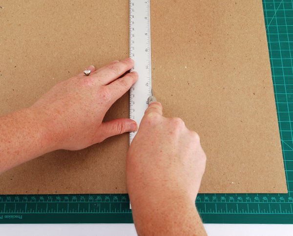 cut out the small and large tray pieces