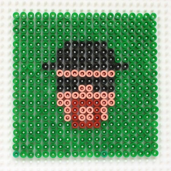 Breaking Bad Perler Bead Coaster tutorial