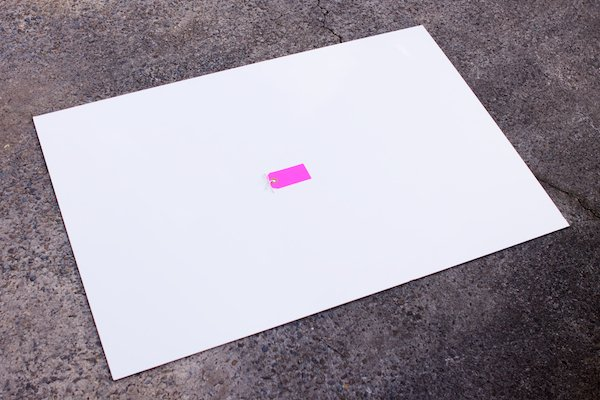 Masonite or Tile Board Setup